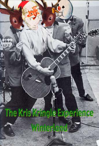 The Kris Kringle Experience - Winterland 1965 - Christmas Card by Doug Nunn