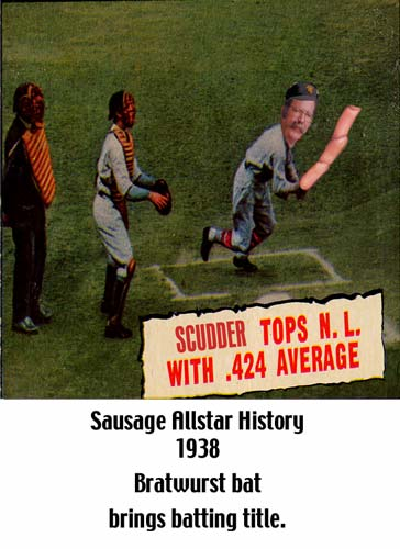 Sausage Allstar History (Scudder Tops National League)